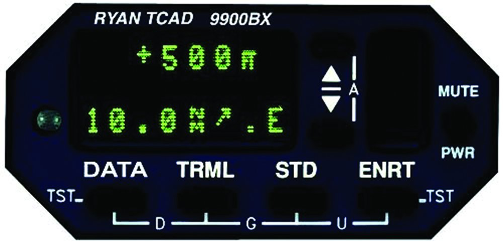 Ryan 9900BX TCAD display