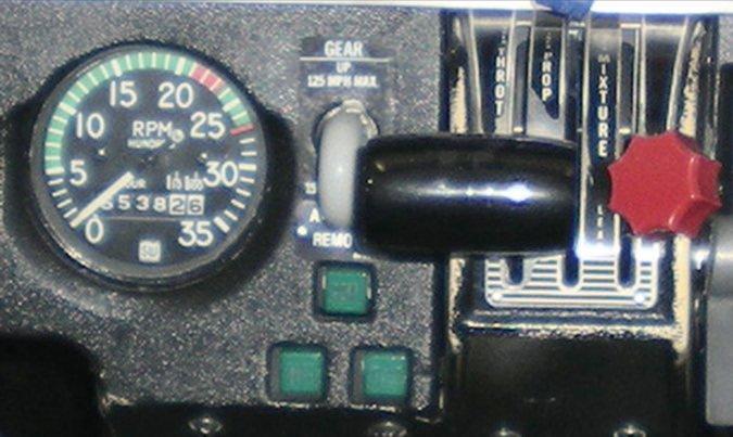 Piper Arrow Gear Lights