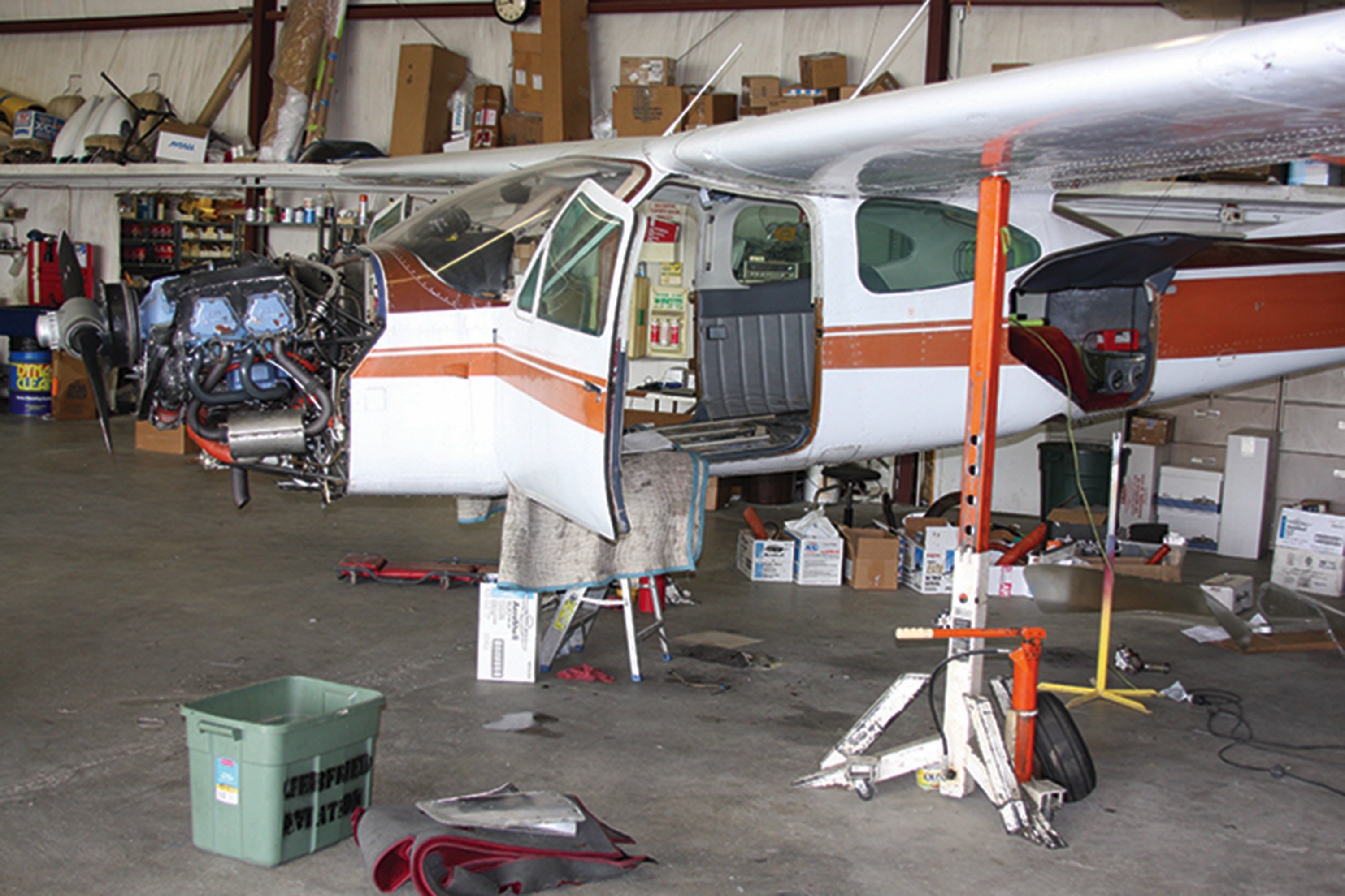 Landing gear must be inspected and rigging checked at 100 hour or annual intervals