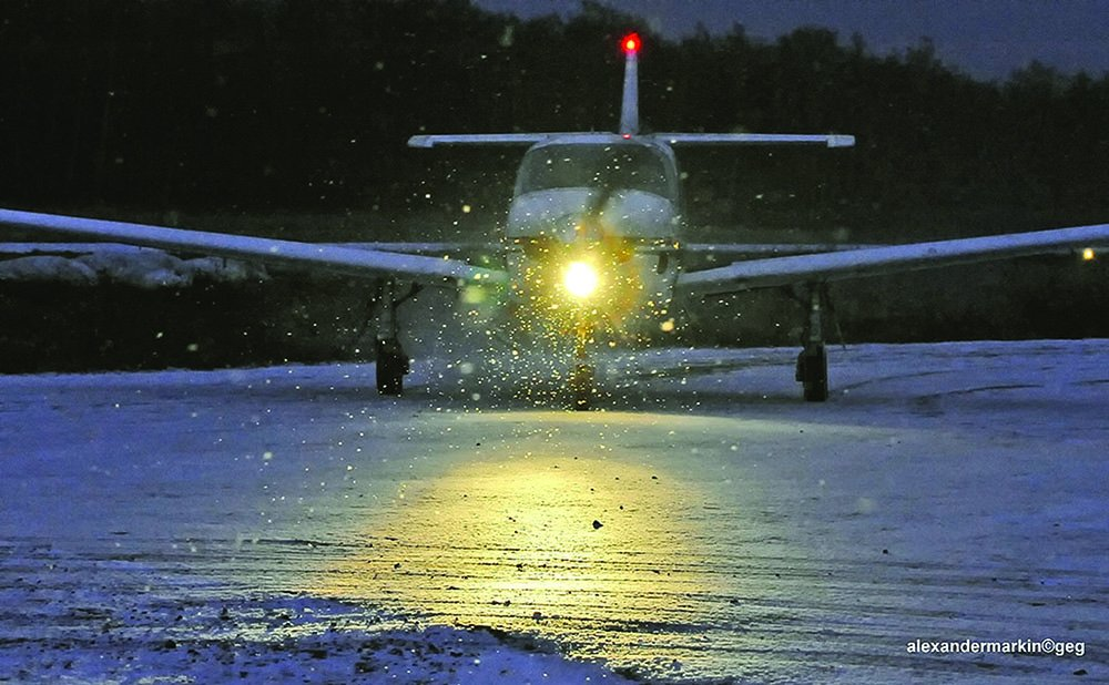 Snow on the Runway - Aviation Safety