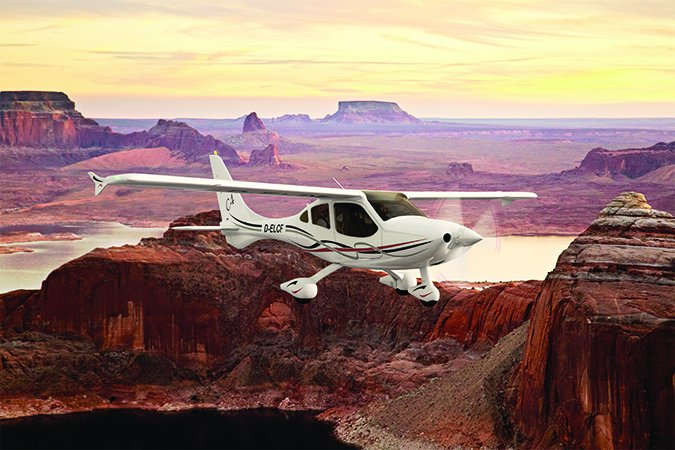 Flight Design C4 four-seat single