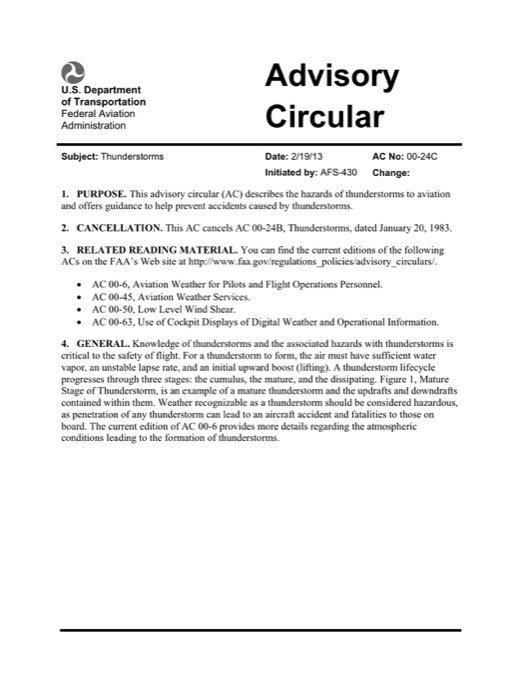aviation circular